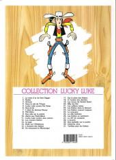Verso de Lucky Luke -6f2006- Hors-la-loi
