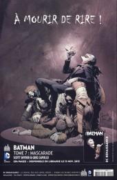 Verso de Batman Saga -43- Numéro 43