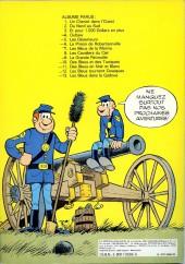 Verso de Les tuniques Bleues -12a1978- Les Bleus tournent cosaques