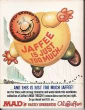 Verso de (AUT) Jaffee - Mad's vastly overrated