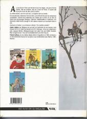 Verso de Les 7 Vies de l'Épervier -1b1988- La blanche morte