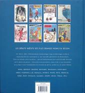 Verso de (DOC) Franquin, Morris, Jijé, Sempé... - 200 couvertures inédites pour le journal Le Moustique