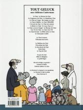 Verso de Le chat -1b2015- Tome 1