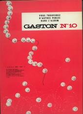 Verso de Gaston -9a79- Le cas Lagaffe