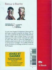 Verso de Les petits Polars -408- Retour à Biarritz