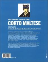 Verso de (AUT) Pratt, Hugo - Corto Maltese : 1904-1925 Récits du monde, escales du temps