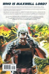Verso de Justice League: Generation Lost (2010) -INT1- Volume 1