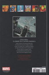 Verso de Marvel Comics - La collection (Hachette) -4653- Civil War - La Mort de Captain America
