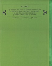Verso de Thorgal -8TL- Alinoë