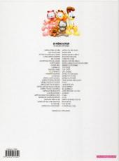 Verso de Garfield -8d2012- Qui dort Dîne !