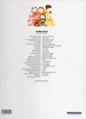 Verso de Garfield -20Ind2012- Garfield ne se mouille pas