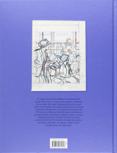 Verso de Blake et Mortimer (Divers) -12HS- Les 3 Formules du Professeur Satô - Découpage original