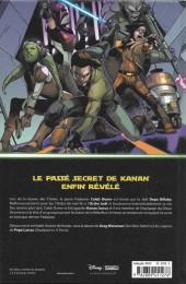 Verso de Star Wars - Kanan -1- Le Dernier Padawan