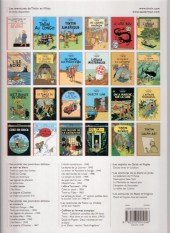 Verso de Tintin (Historique) -5D- Le Lotus bleu