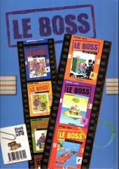 Verso de Le boss -9- Les fonds de tiroir du boss