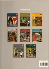 Verso de Adèle Blanc-Sec (Les Aventures Extraordinaires d') -4b99- Momies en folie