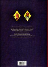 Verso de Blake et Mortimer (Les Aventures de) -6TS1- La marque jaune (version journal Tintin)
