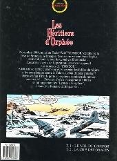 Verso de Les héritiers d'Orphée -2- La cité des orages