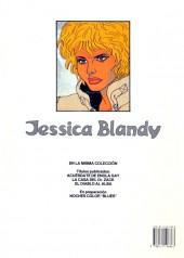 Verso de Jessica Blandy (en espagnol) -3- El diablo al alba
