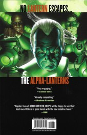 Verso de Green Lantern Corps (2006) -INT07- Revolt of the Alpha-Lanterns