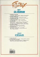 Verso de Gil Jourdan (Tout) -4a1986- Dix aventures