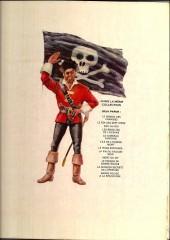 Verso de Barbe-Rouge -12a1972- La mission secrète de l'Epervier