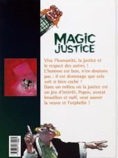 Verso de Magic justice