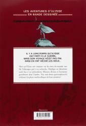 Verso de Odyssée -2- Les Naufragés de Poséidon