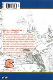 Verso de Seven Deadly Sins -12- Tome 12