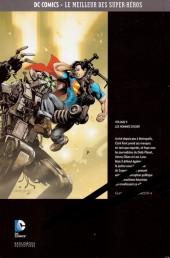 Verso de DC Comics - Le Meilleur des Super-Héros -9- Superman - Les Hommes d'acier