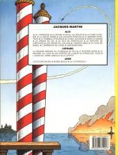 Verso de Lefranc -2c1985a- L'ouragan de feu