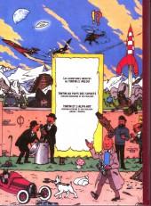 Verso de Tintin - Pastiches, parodies & pirates -19f2015- Tintin et l'alph-art