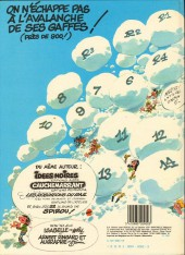 Verso de Gaston -10a1983/10- Le géant de la gaffe