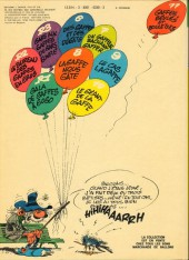 Verso de Gaston -11a1976- Gaffes, bévues et boulettes