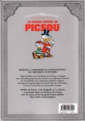 Verso de La grande Épopée de Picsou -7- Tome VII - Le Retour du Chevalier noir et autres histoires
