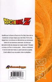 Verso de Dragon Ball Z -27- 6e partie : Le tournoi de l'Au-delà 2