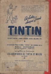 Verso de (Recueil) Tintin (Album du journal - Édition française) -6- Tintin album du journal