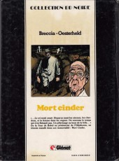 Verso de Mort Cinder -2- Tome 2