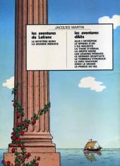 Verso de Alix -7a1974- Le Dernier Spartiate