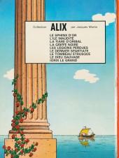 Verso de Alix -9a1972- Le Dieu sauvage