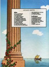 Verso de Alix -11a1982- Le prince du Nil