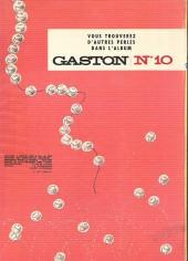 Verso de Gaston -9a72- Le cas lagaffe