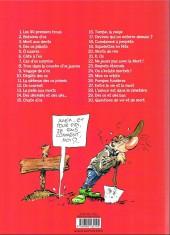 Verso de Pierre Tombal -3c2014- Mort aux dents