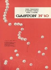 Verso de Gaston -9a77- Le cas Lagaffe