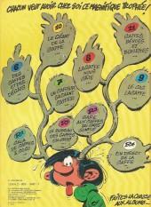 Verso de Gaston -12a1979- Le gang des gaffeurs