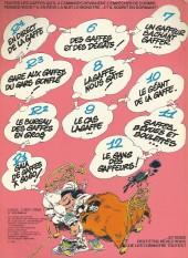 Verso de Gaston -13a1980/09- Lagaffe mérite des baffes