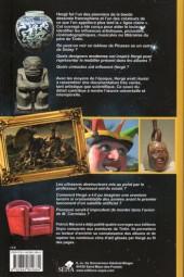 Verso de (AUT) Hergé - Les arts et les sciences dans l'œuvre d'Hergé