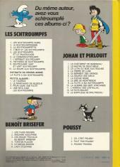 Verso de Johan et Pirlouit -2d76- Le maitre de Roucybeuf