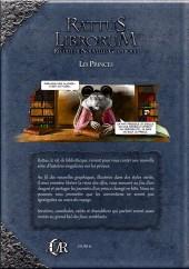 Verso de Rattus Librorum -2- Les Princes