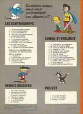 Verso de Les schtroumpfs -10a1979- La soupe aux Schtroumpfs